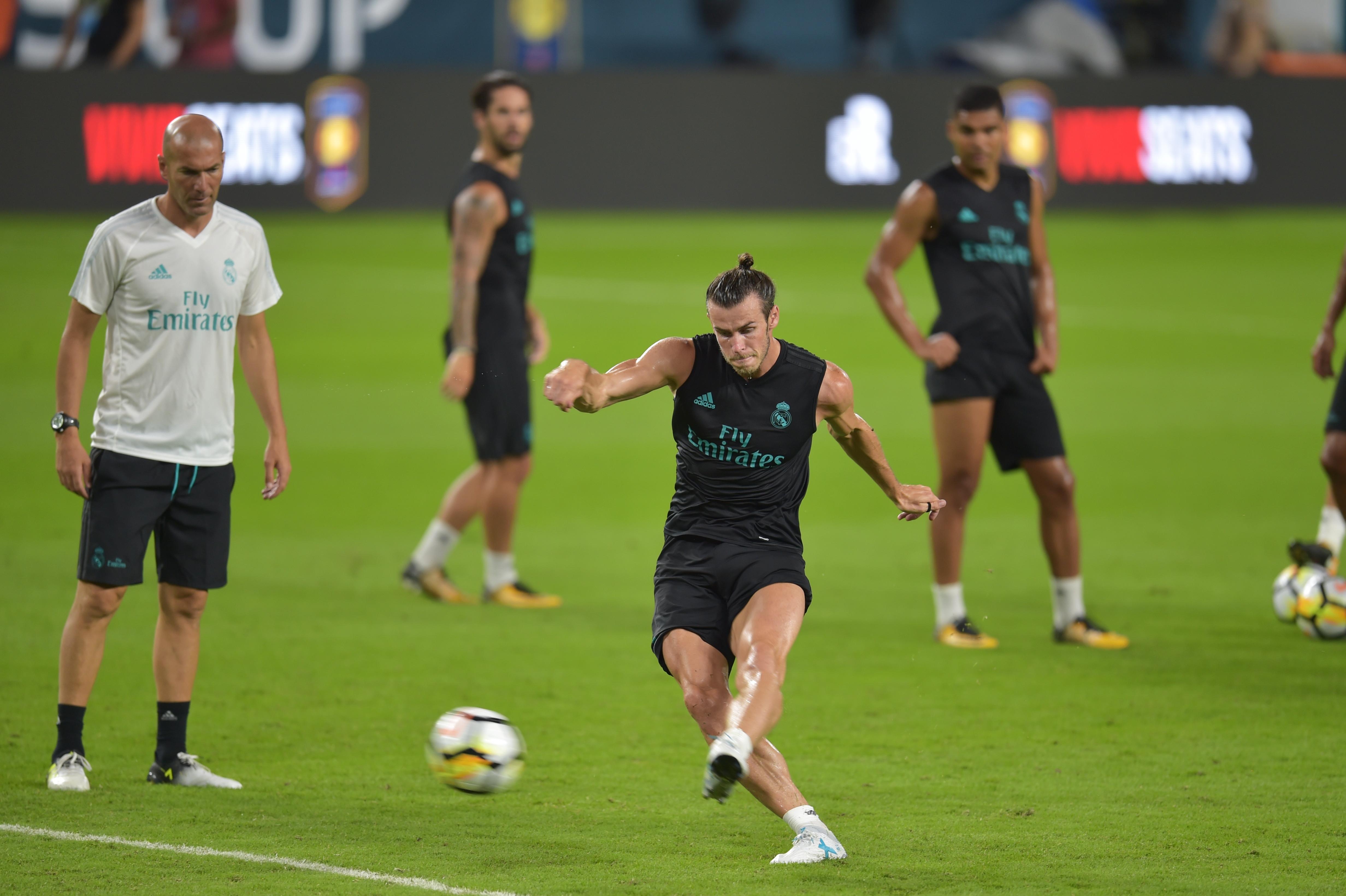 fae9552aeed7c Bale deixa treino do Real Madrid após sentir dores no tornozelo ...