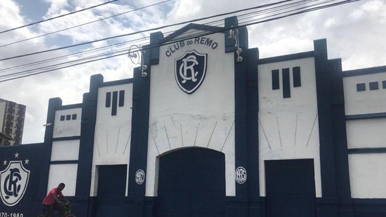 Ícone do pórtico do Baenão é encontrado em meio à sujeira - Rádio Clube do  Pará